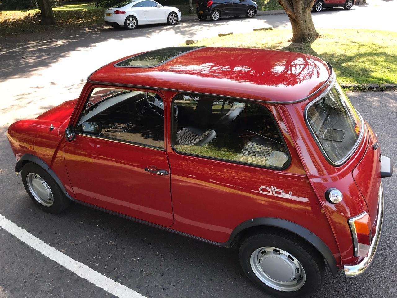 1986 Austin Mini 1000 City E - Genuine 15,000 Mile SOLD (picture 3 of 6)