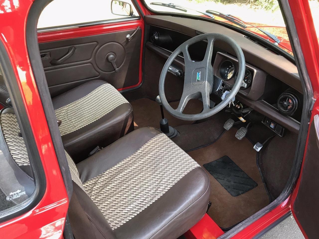 1986 Austin Mini 1000 City E - Genuine 15,000 Mile SOLD (picture 4 of 6)