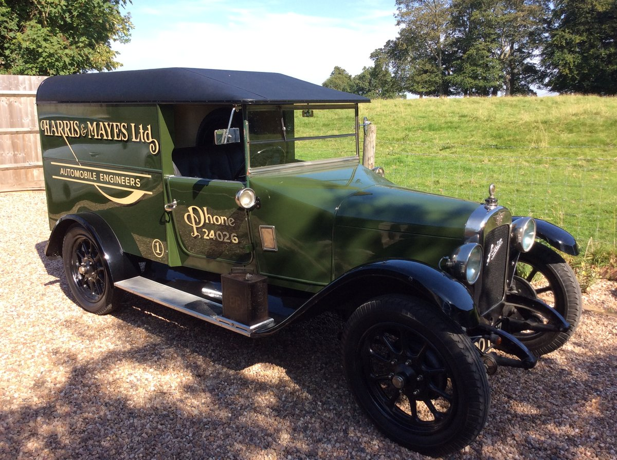 1925 Vintage Austin 12 Van For Sale (picture 1 of 6)