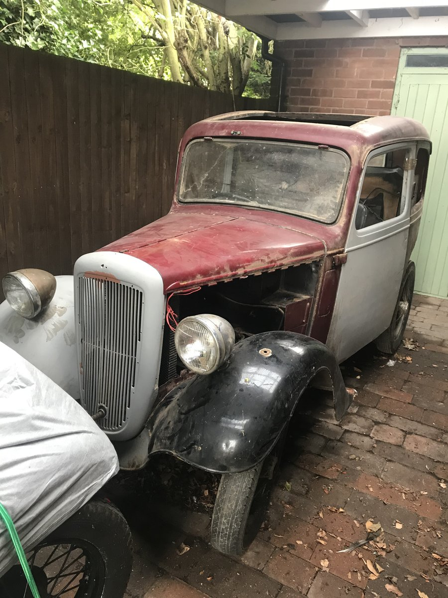 1938 Austin Seven Ruby 1937 For Sale (picture 1 of 6)