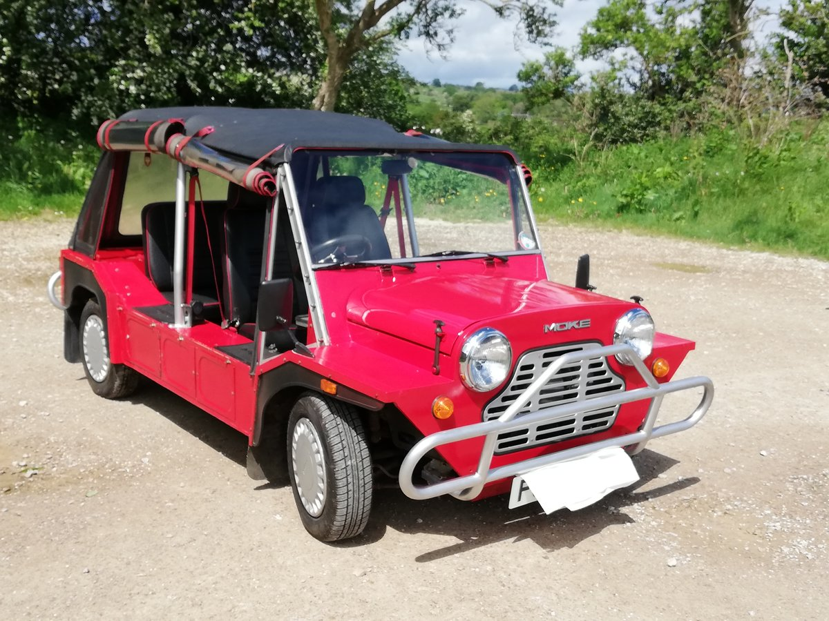 1987 Mini Moke looking for a loving home! For Sale (picture 5 of 6)