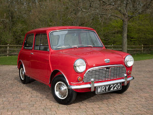 1959 AUSTIN MINI SALOON For Sale by Auction