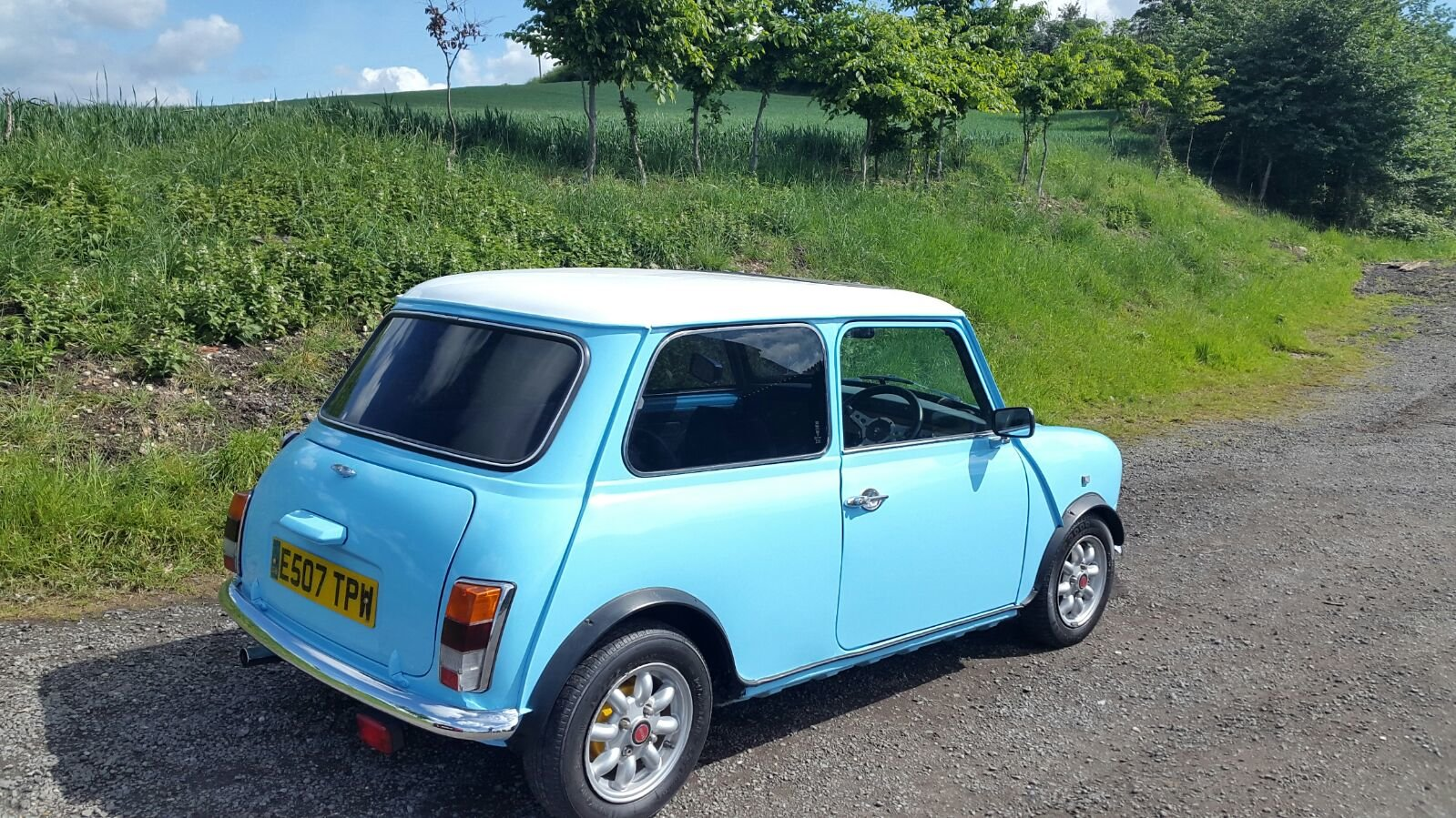 1988 Mini Baby blue  For Sale (picture 2 of 5)