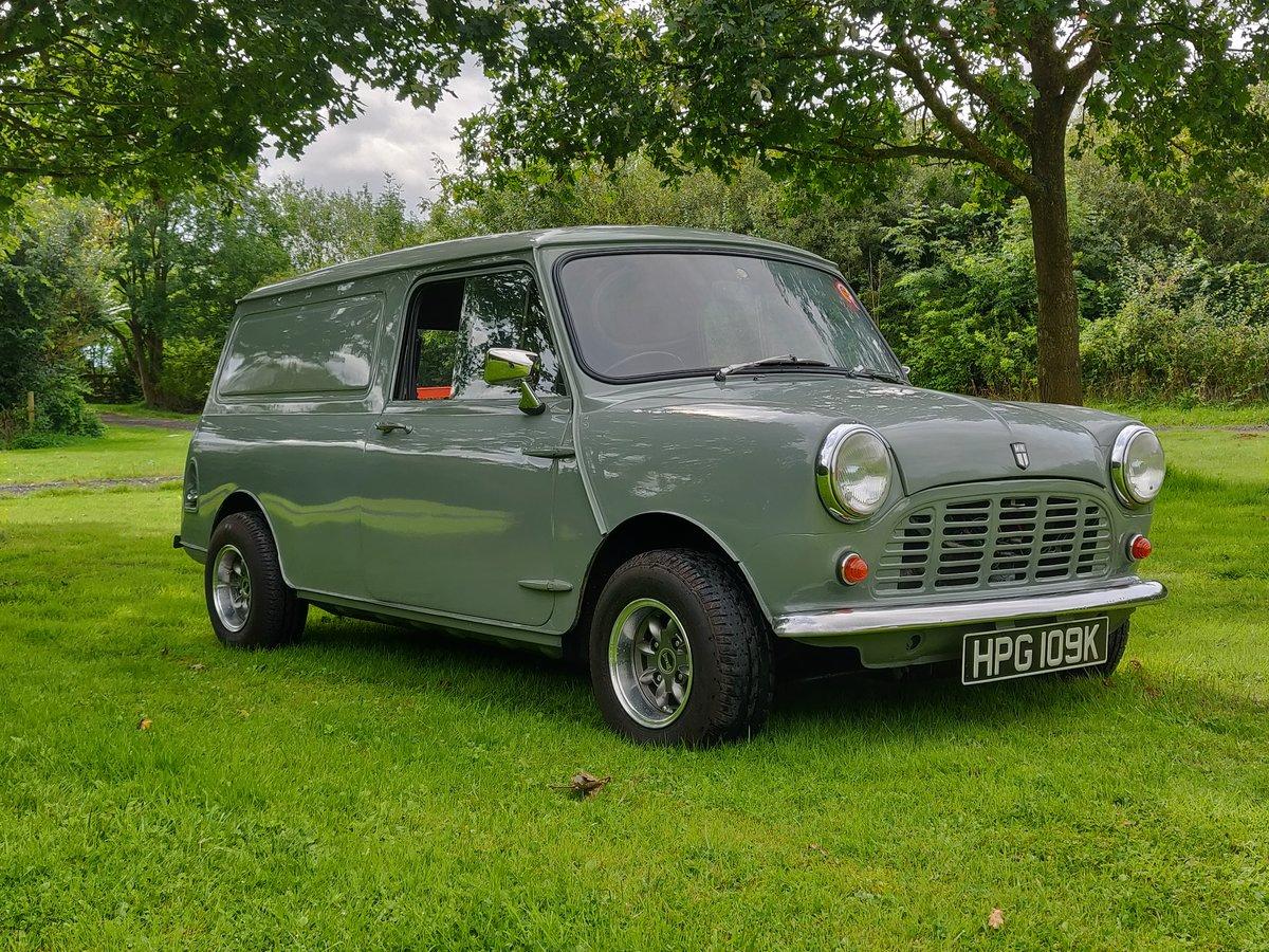 1971 Austin Morris Mini Van SOLD.   For Sale (picture 1 of 6)
