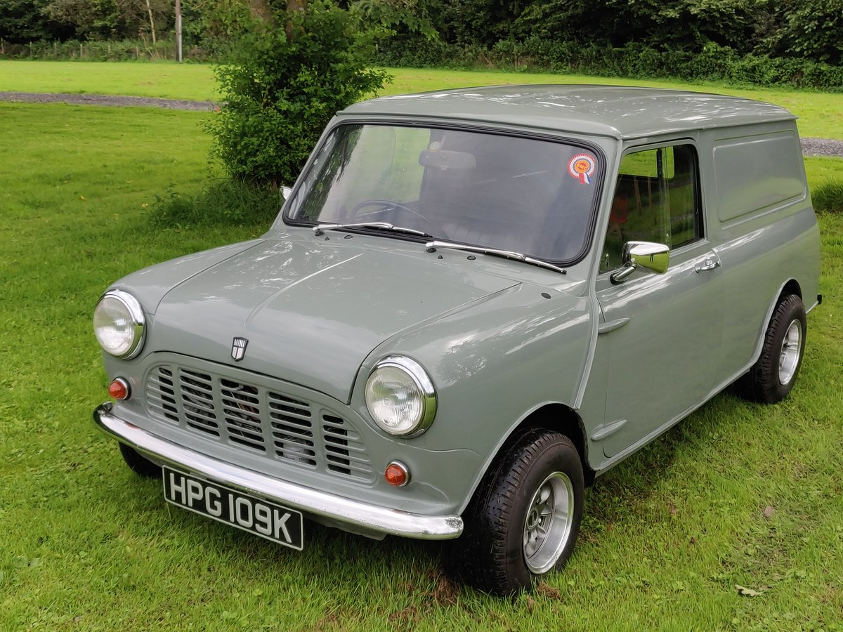 1971 Austin Morris Mini Van SOLD.   For Sale (picture 3 of 6)