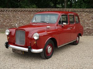 1986 Austin Carbodies FX4R London Taxi only 19.000 km, 1st owner!