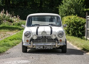 1989 Austin Mini The Italian Job SOLD by Auction