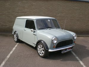 1969 AUSTIN MINI PANELVAN in beautifully restored For Sale