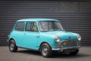 AUSTIN MINI MK 1 SUPER DE LUXE SPEEDWELL (RESTORED)