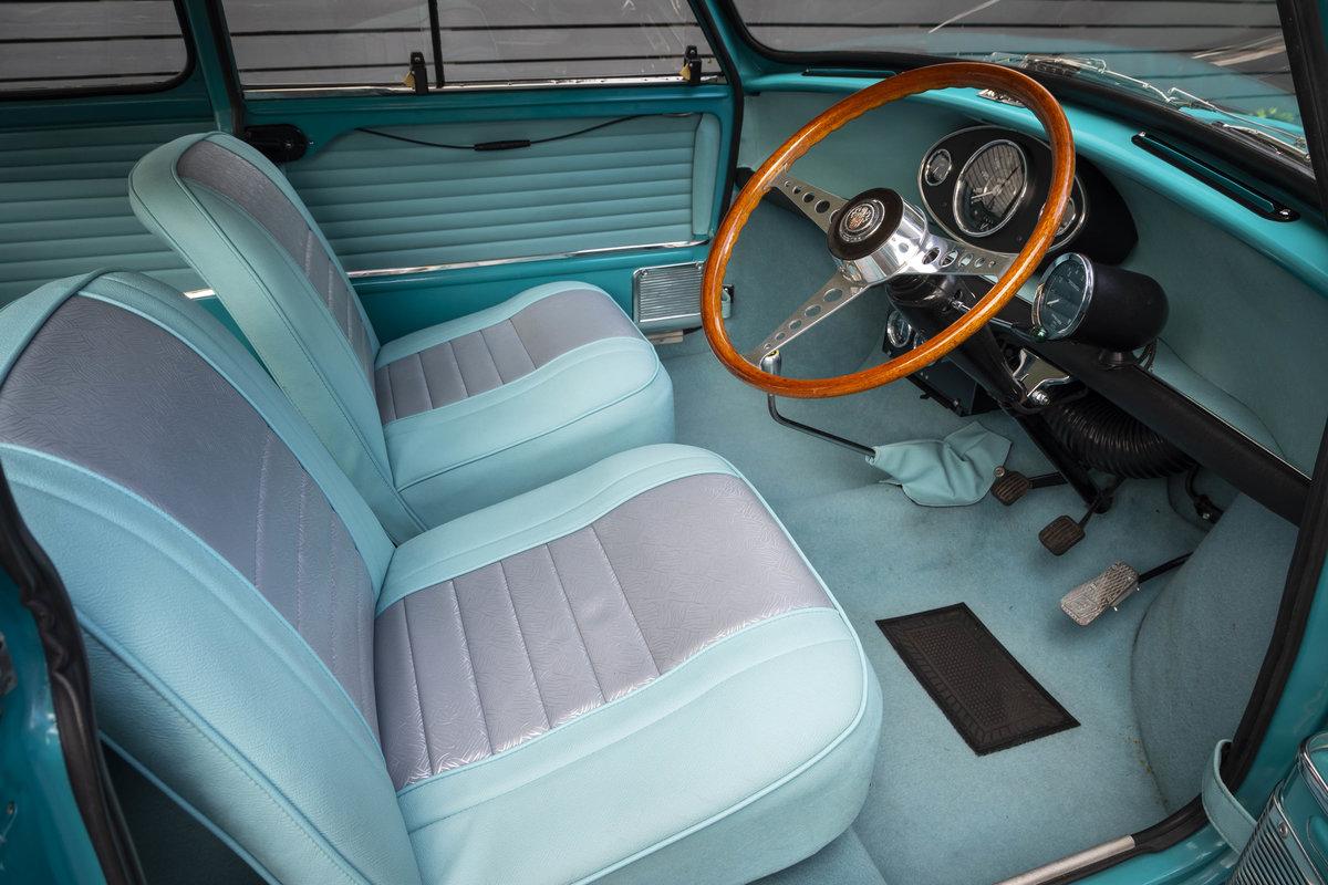 1963 AUSTIN MINI MK 1 SUPER DE LUXE SPEEDWELL (RESTORED) For Sale (picture 4 of 6)