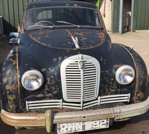 1952 Austin Hereford A/70 2.2 Black