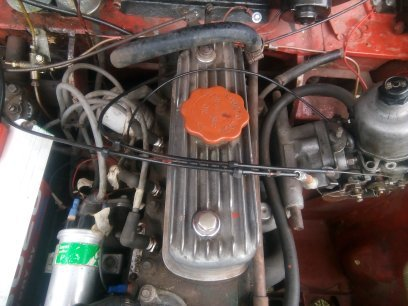 Red 1966 Austin A40 Farina project SOLD (picture 3 of 5)