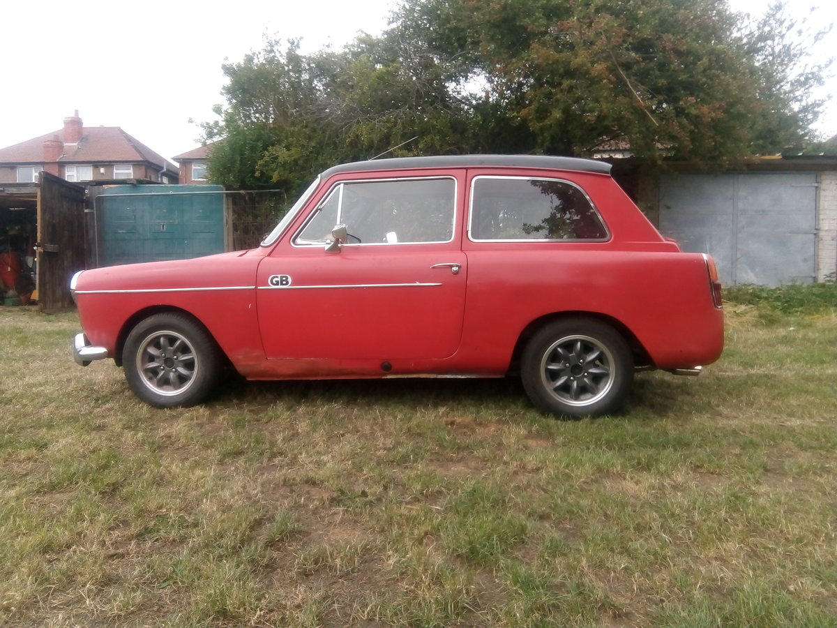 Red 1966 Austin A40 Farina project SOLD (picture 5 of 5)