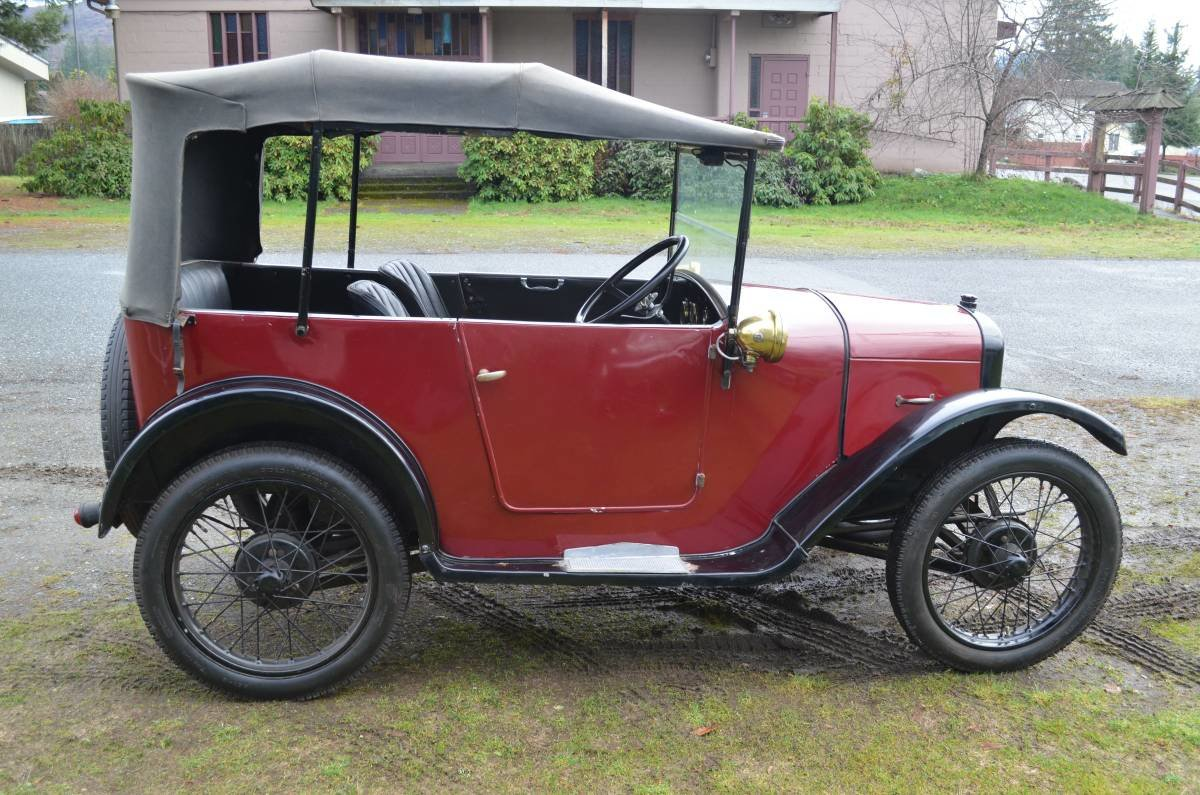 1928 Austin 7 Charming Chummy with a history! For Sale (picture 1 of 6)