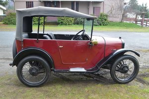 1928 Austin 7 Charming Chummy with a history!