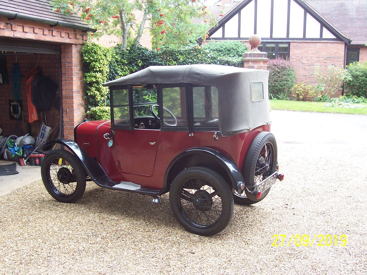 1928 Austin 7 Charming Chummy with a history! For Sale (picture 4 of 6)