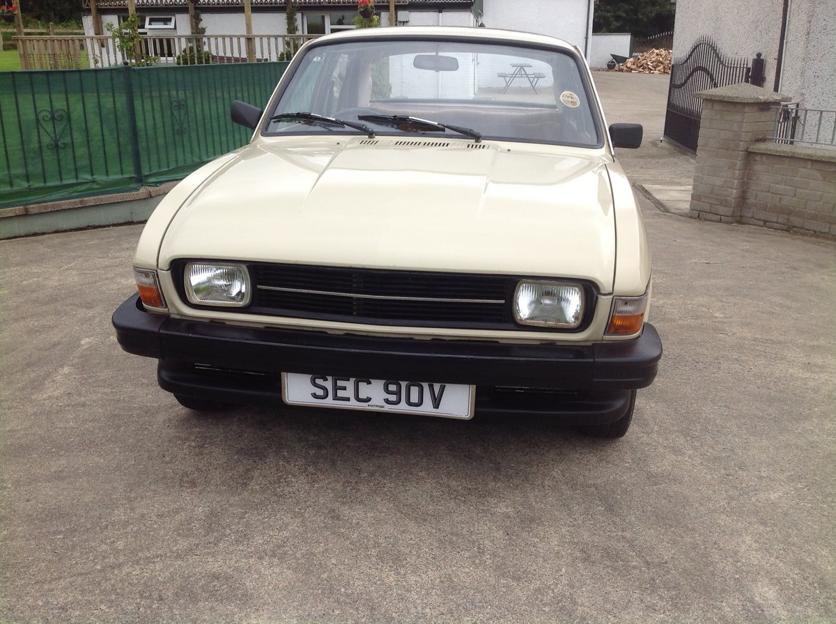 1981 Austin allegro 1.5 series 3 ( low miles ) SOLD (picture 3 of 6)