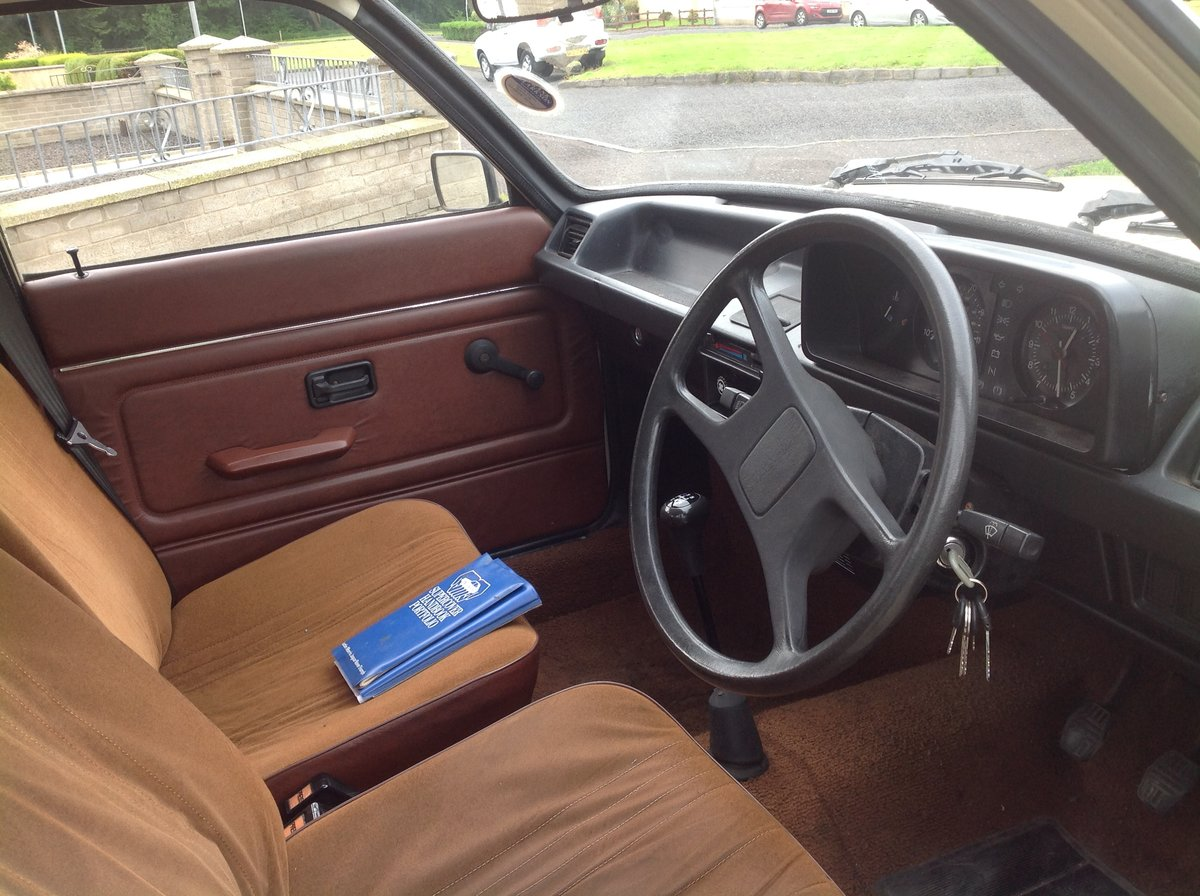 1981 Austin allegro 1.5 series 3 ( low miles ) SOLD (picture 6 of 6)
