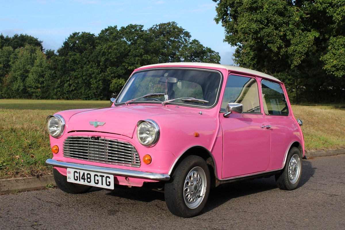 Austin Mini Sky Rose 1989 - To be auctioned 25-10-19 For Sale by Auction (picture 1 of 6)