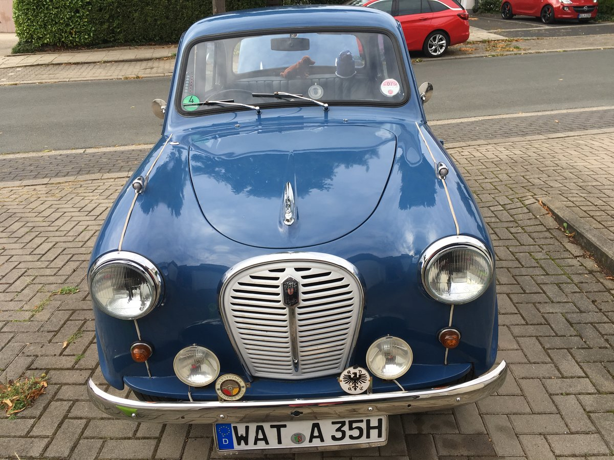 1957 Austin A35, 4door, RHD, full history For Sale (picture 2 of 6)