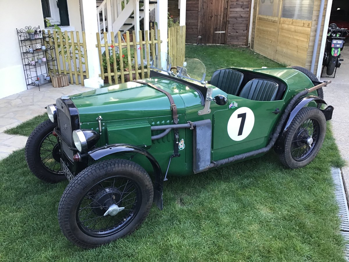 Austin seven sport of 1933 in very good condition For Sale (picture 1 of 6)