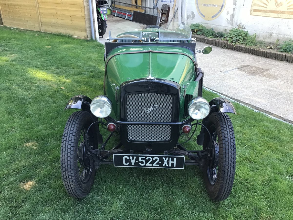 Austin seven sport of 1933 in very good condition For Sale (picture 3 of 6)
