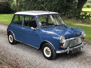 1969 Austin Mini Cooper MK II Just £20,000 - £25,000 For Sale by Auction