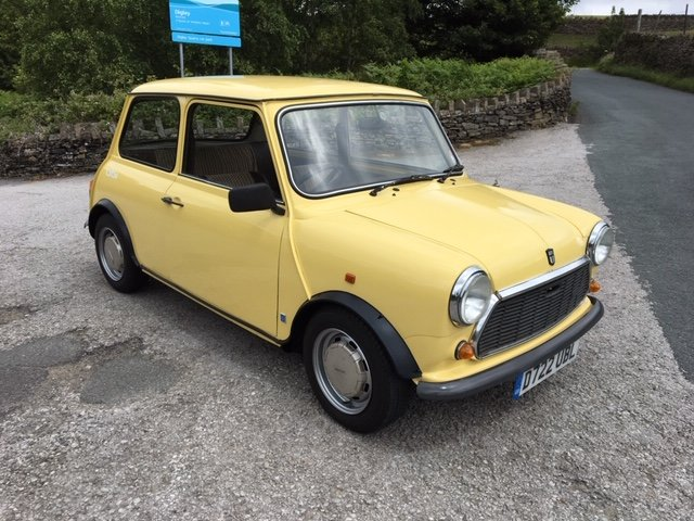 1986 AUSTIN MINI CITY, GENUINE 14000m FROM NEW ! SOLD (picture 1 of 6)