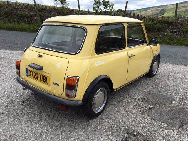 1986 AUSTIN MINI CITY, GENUINE 14000m FROM NEW ! SOLD (picture 2 of 6)