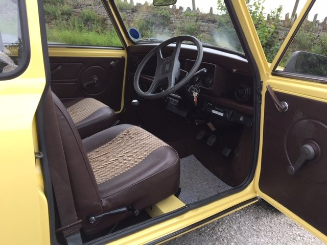 1986 AUSTIN MINI CITY, GENUINE 14000m FROM NEW ! SOLD (picture 3 of 6)