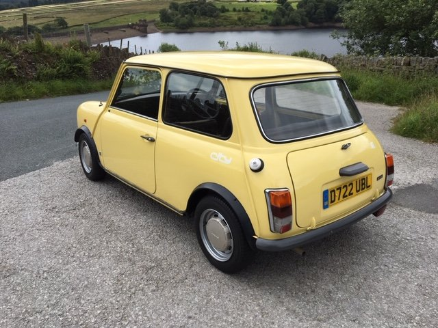1986 AUSTIN MINI CITY, GENUINE 14000m FROM NEW ! SOLD (picture 6 of 6)