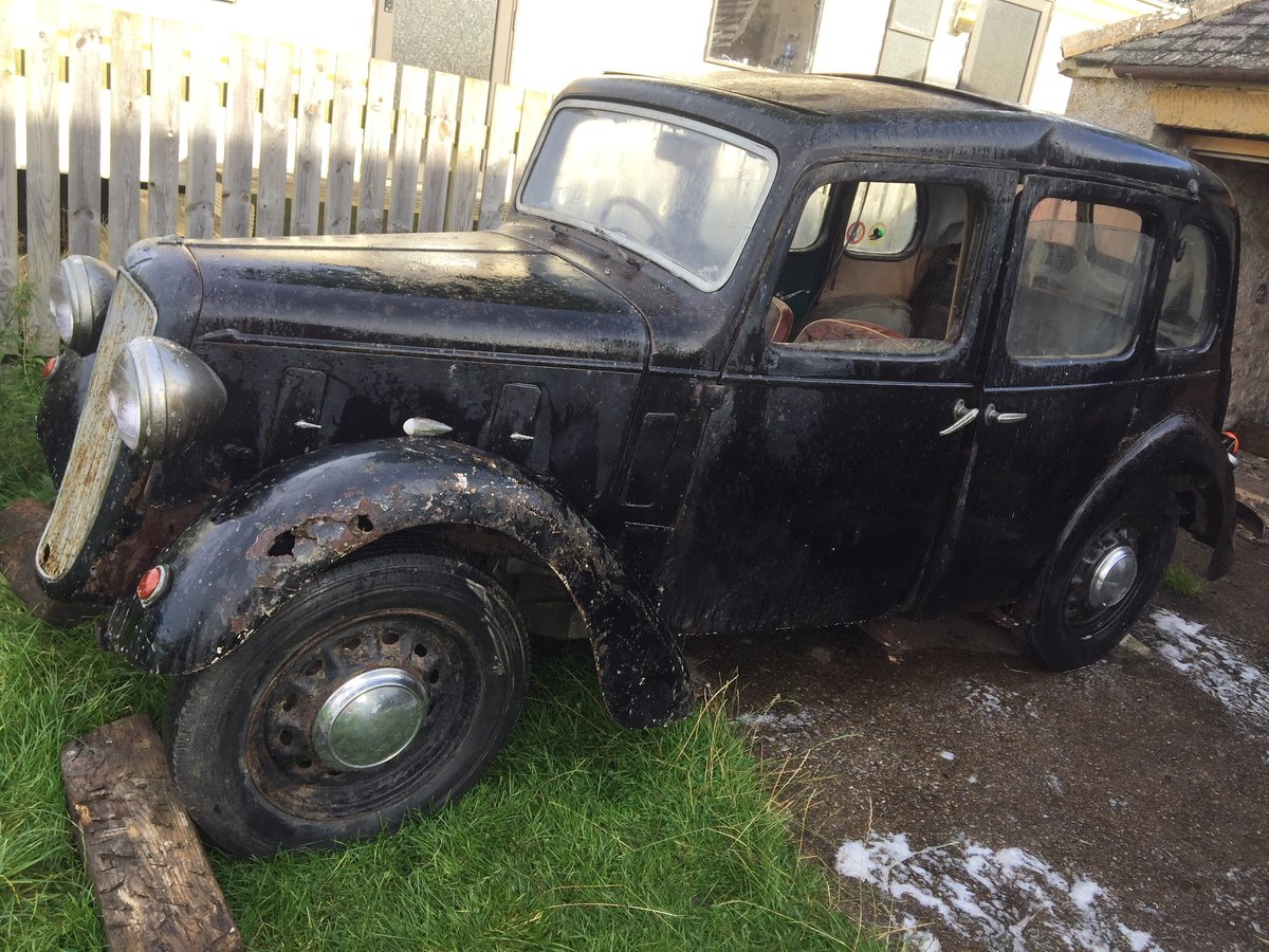 1939 Austin 10- Restoration Project For Sale by Auction (picture 1 of 6)