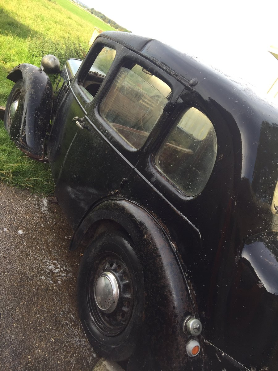 1939 Austin 10- Restoration Project For Sale by Auction (picture 2 of 6)