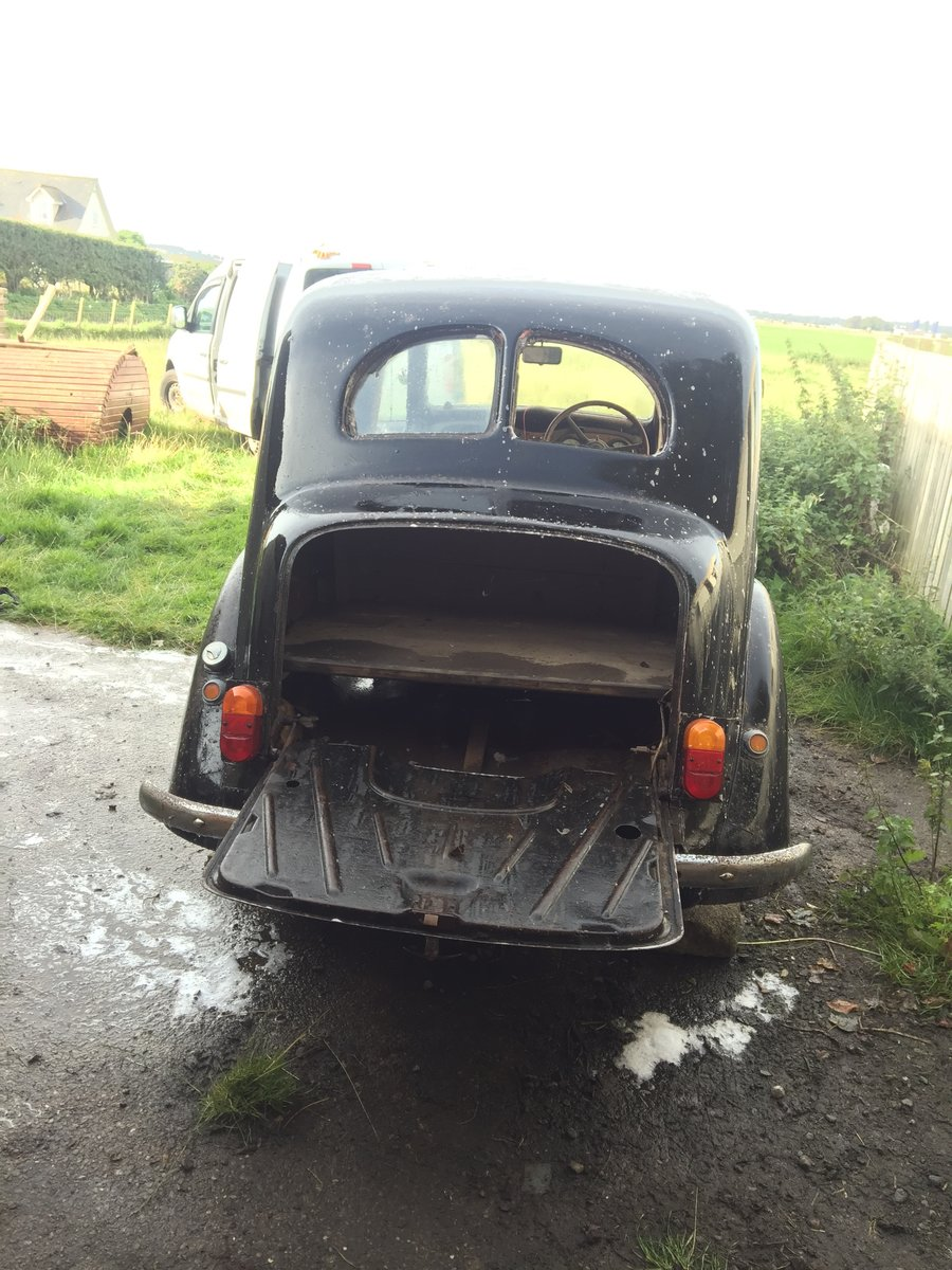 1939 Austin 10- Restoration Project For Sale by Auction (picture 3 of 6)