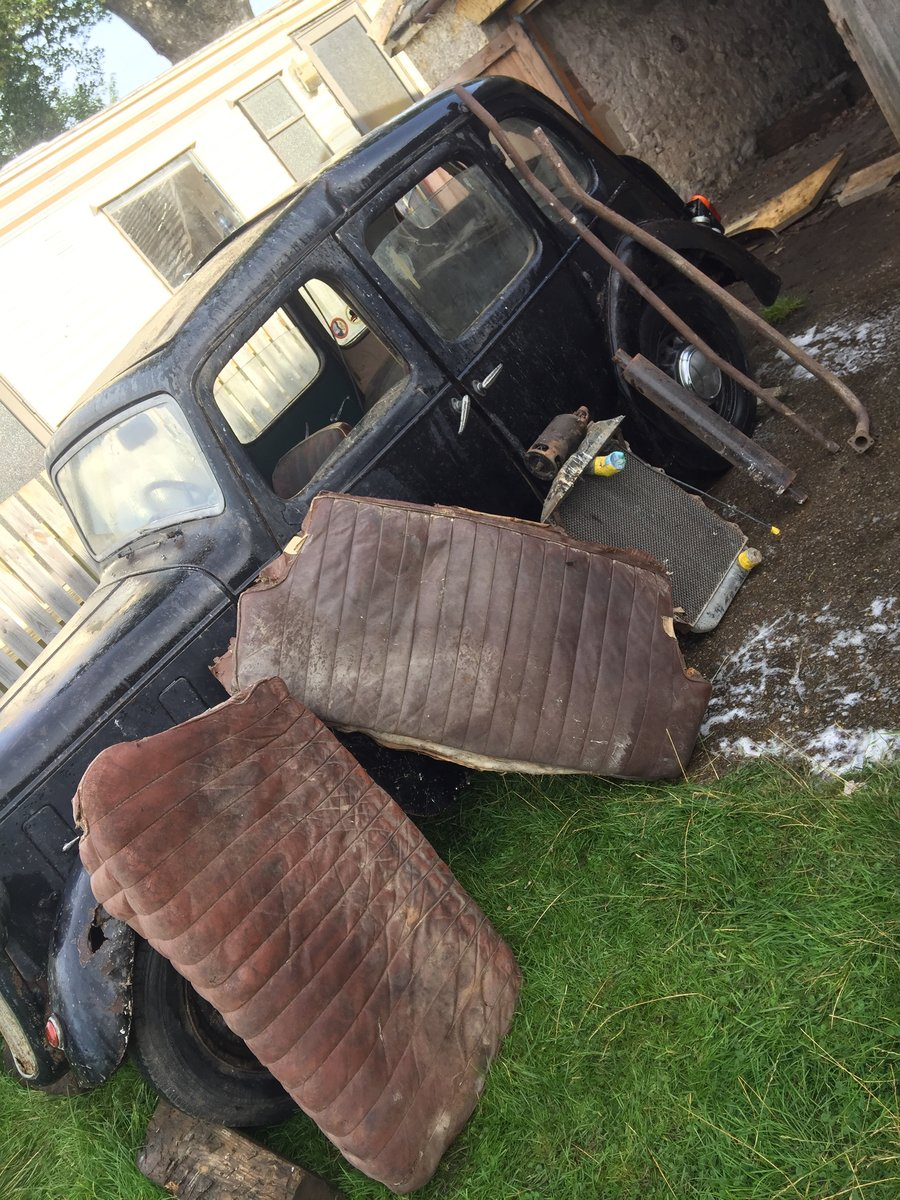 1939 Austin 10- Restoration Project For Sale by Auction (picture 4 of 6)