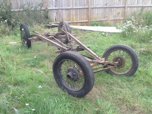 1933 Austin 7 tourer chassis  For Sale
