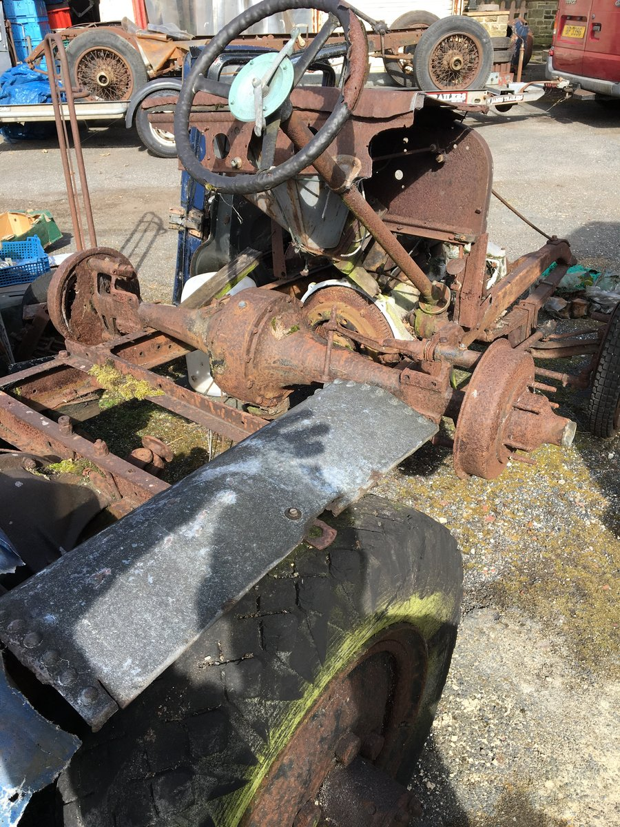 1928 Austin heavy 12/4 project and parts For Sale (picture 1 of 6)