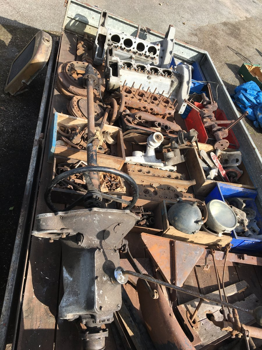 1928 Austin heavy 12/4 project and parts For Sale (picture 5 of 6)