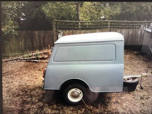 1971 Austin Mini Van Trailer For Sale