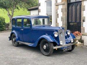 1936 Austin 12/4 Light Ascot Saloon For Sale by Auction