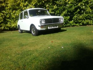 1974 AUSTIN MINI CLUBMAN Just 12,000 miles Est £7,500-9500 For Sale by Auction
