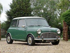 1966 Austin Mini Cooper S 1275 For Sale by Auction