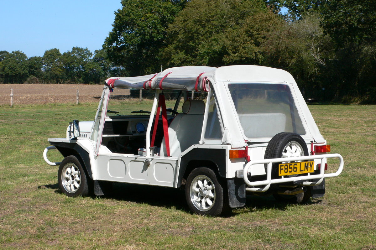 1989 Austin Mini Moke For Sale by Auction (picture 2 of 6)