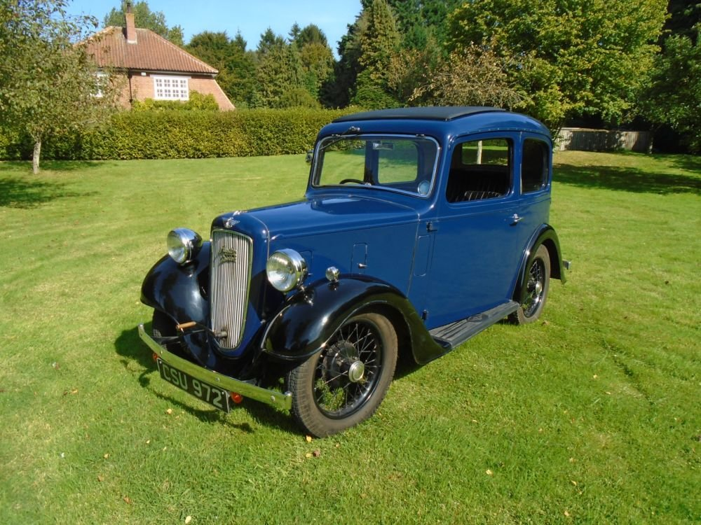 1936 Austin Seven Ruby Mark II De-Luxe For Sale (picture 1 of 6)