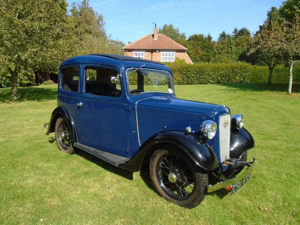 1936 Austin Seven Ruby Mark II De-Luxe For Sale (picture 2 of 6)