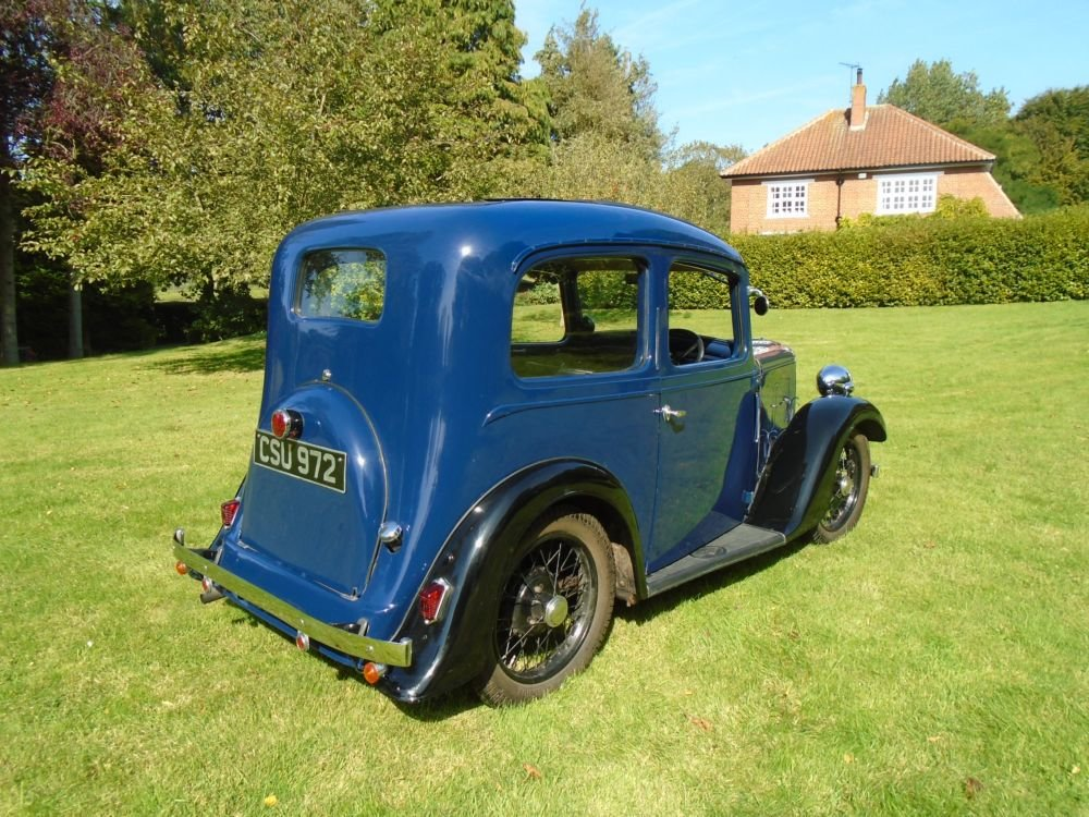 1936 Austin Seven Ruby Mark II De-Luxe For Sale (picture 3 of 6)