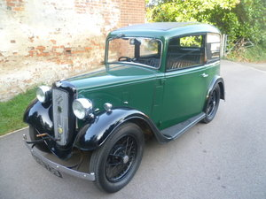 1934  AUSTIN 7 RUBY SALOON
