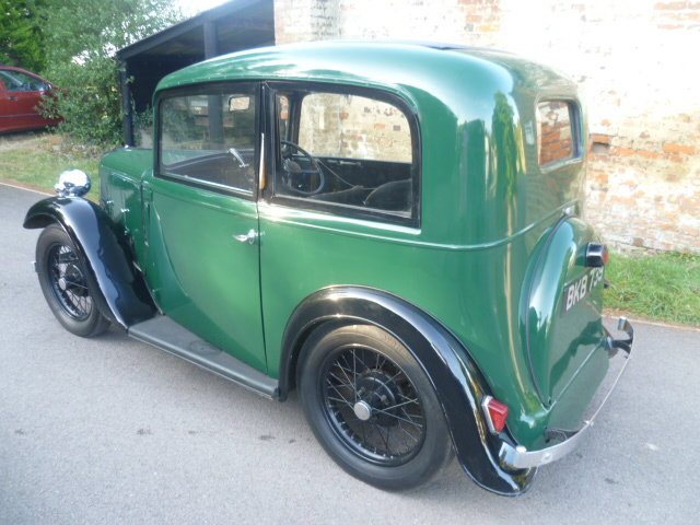 1934  AUSTIN 7 RUBY SALOON SOLD (picture 6 of 6)