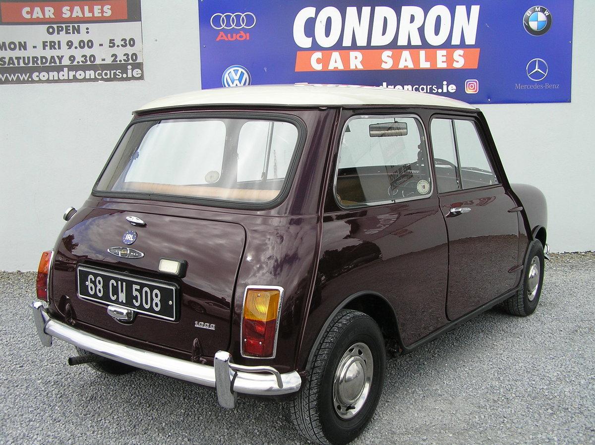 1968 Austin mini 1000 mk 11 For Sale (picture 4 of 6)