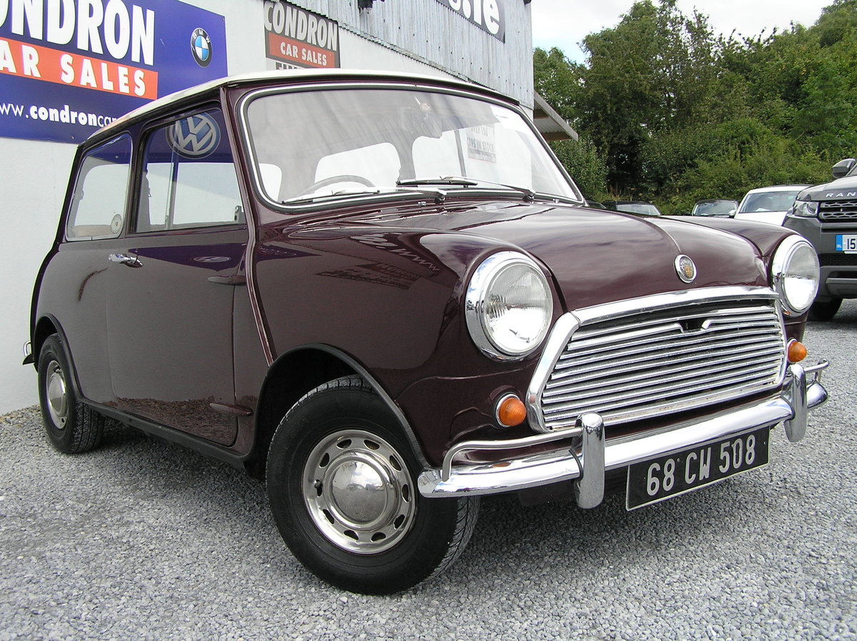 1968 Austin mini 1000 mk 11 SOLD (picture 6 of 6)